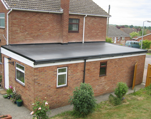 recent project for flat roofing west midlands